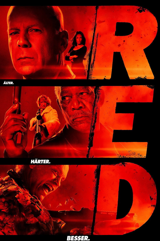 """""""R.E.D. - Älter. Härter. Besser."""""""