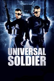 "Poster for the movie ""Universal Soldier"""