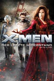 """Poster for the movie """"X-Men - Der letzte Widerstand"""""""