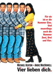 "Poster for the movie ""Vier lieben Dich"""