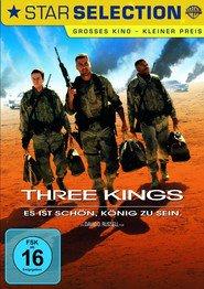 """Poster for the movie """"Three Kings - Es ist schön König zu sein"""""""