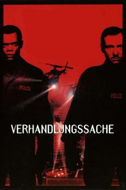 "Poster for the movie ""Verhandlungssache"""