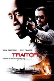 "Poster for the movie ""Traitor"""