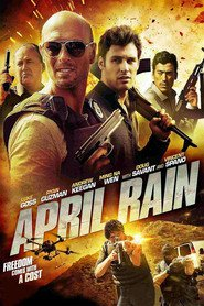 """Poster for the movie """"April Rain"""""""