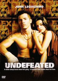 "Poster for the movie ""Undefeated"""