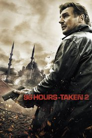 "Poster for the movie ""96 Hours - Taken 2"""