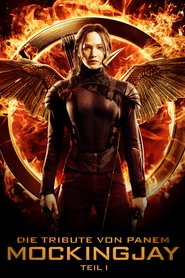 "Poster for the movie ""Die Tribute von Panem - Mockingjay Teil 1"""