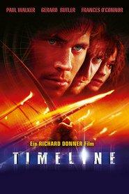 """Poster for the movie """"Timeline - Bald wirst du Geschichte sein"""""""