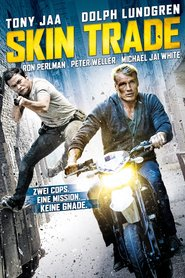 """Poster for the movie """"Skin Trade"""""""