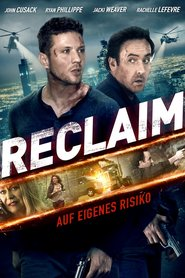 """Poster for the movie """"Reclaim"""""""