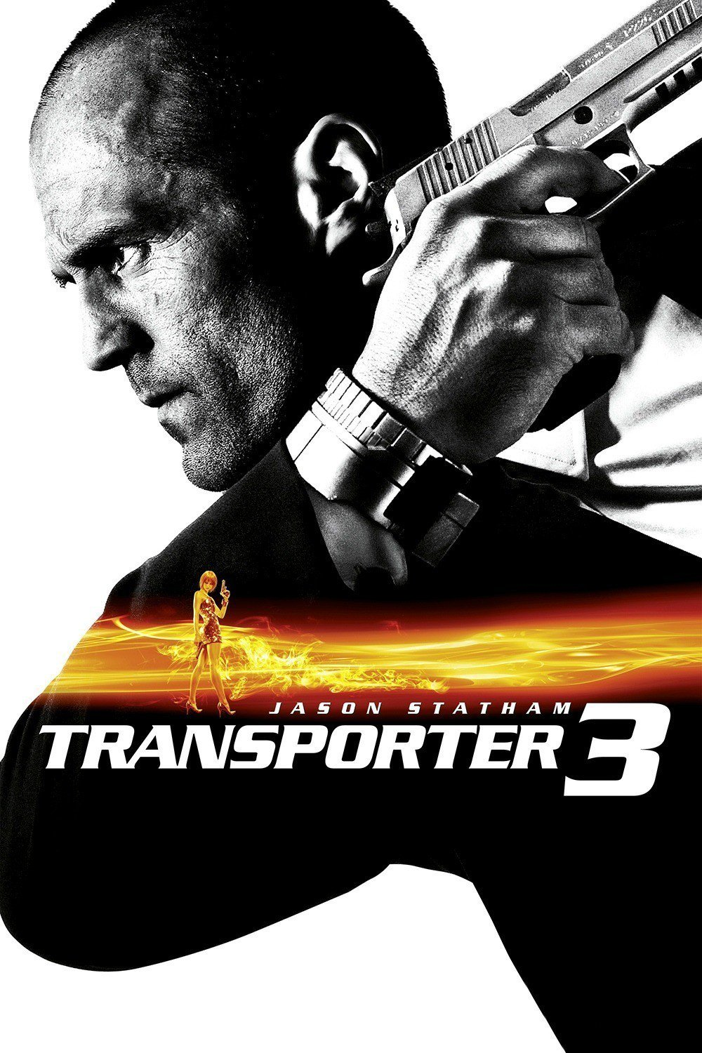 "Poster for the movie ""Transporter 3"""