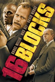 "Poster for the movie ""16 Blocks"""