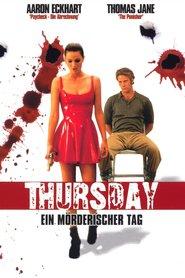 """Poster for the movie """"Thursday - Ein mörderischer Tag"""""""