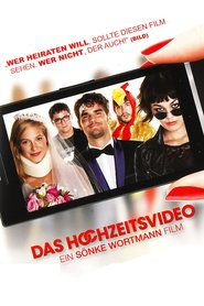 "Poster for the movie ""Das Hochzeitsvideo"""