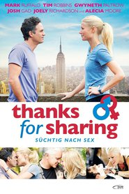 """Poster for the movie """"Thanks for Sharing - Süchtig nach Sex"""""""