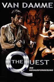 """Poster for the movie """"The Quest: Die Herausforderung"""""""