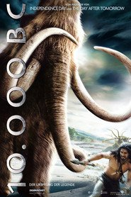 "Poster for the movie ""10.000 B.C."""