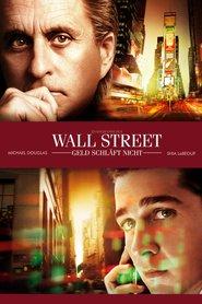 """Poster for the movie """"Wall Street - Geld schläft nicht"""""""