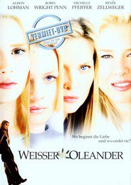 """Poster for the movie """"Weißer Oleander"""""""