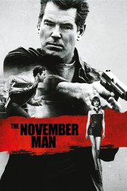 """Poster for the movie """"The November Man"""""""