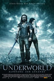"Poster for the movie ""Underworld - Aufstand der Lykaner"""