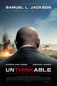 "Poster for the movie ""Unthinkable – Der Preis der Wahrheit"""