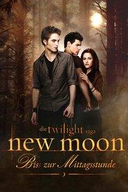"Poster for the movie ""New Moon - Bis(s) zur Mittagsstunde"""