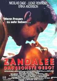 """Poster for the movie """"Zandalee – Das sechste Gebot"""""""