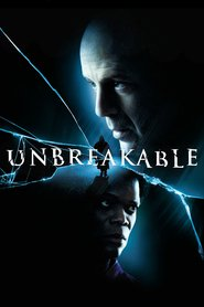 "Poster for the movie ""Unbreakable - Unzerbrechlich"""