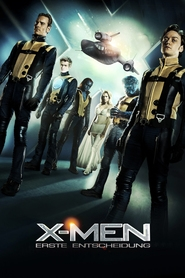 """Poster for the movie """"X-Men - Erste Entscheidung"""""""