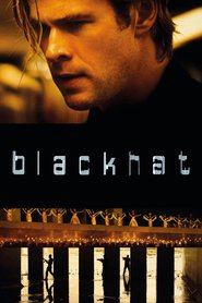 """Poster for the movie """"Blackhat"""""""