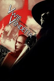 "Poster for the movie ""V wie Vendetta"""